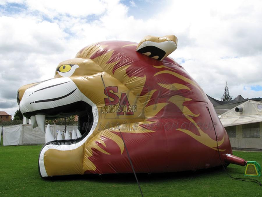 Inflatable Puma Head