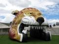Inflatable Puma Tunnel