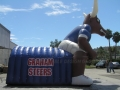 Inflatable Steer Longhorn Tunnel