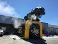 Inflatable Panther Entryway with Smoke