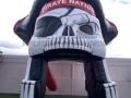 pike county custom inflatable skull entryway