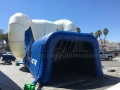 Inflatable Ram Tunnel Rear View