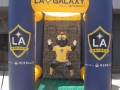 LA Galaxy Flat top Front view