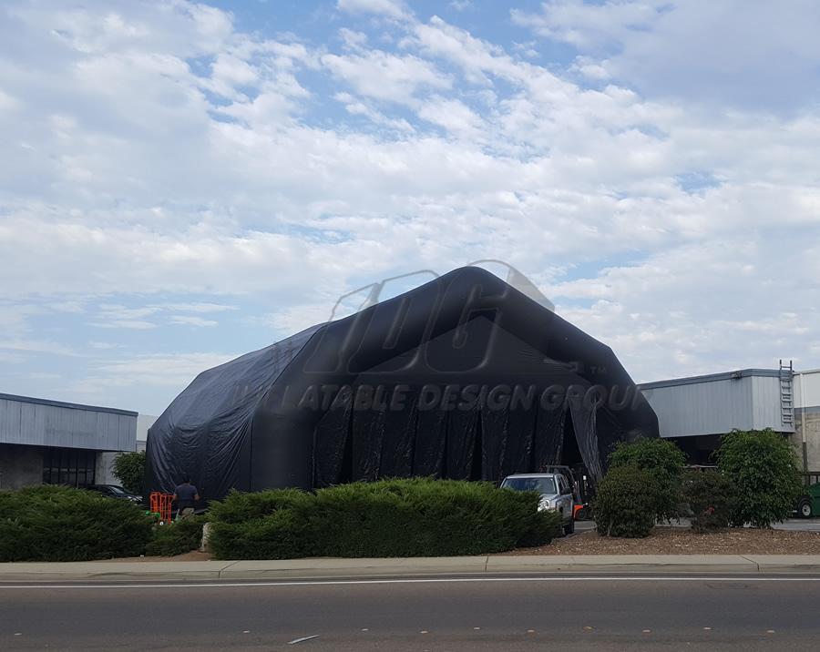 Inflatable Black Large Pavilion
