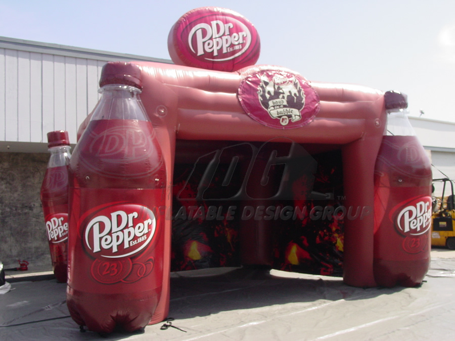 Inflatable Dr Pepper Tent