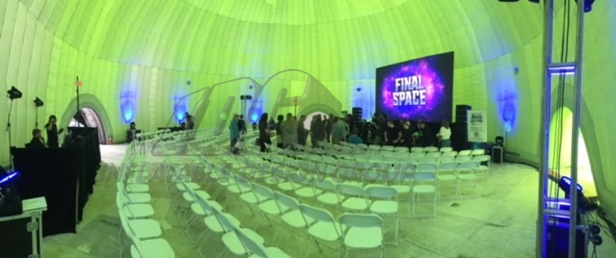 Inflatable Final Space Dome Interior