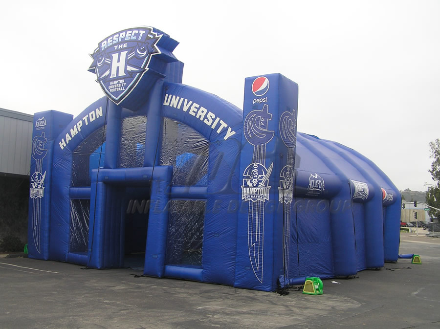 Inflatable Hampton Tent Side View