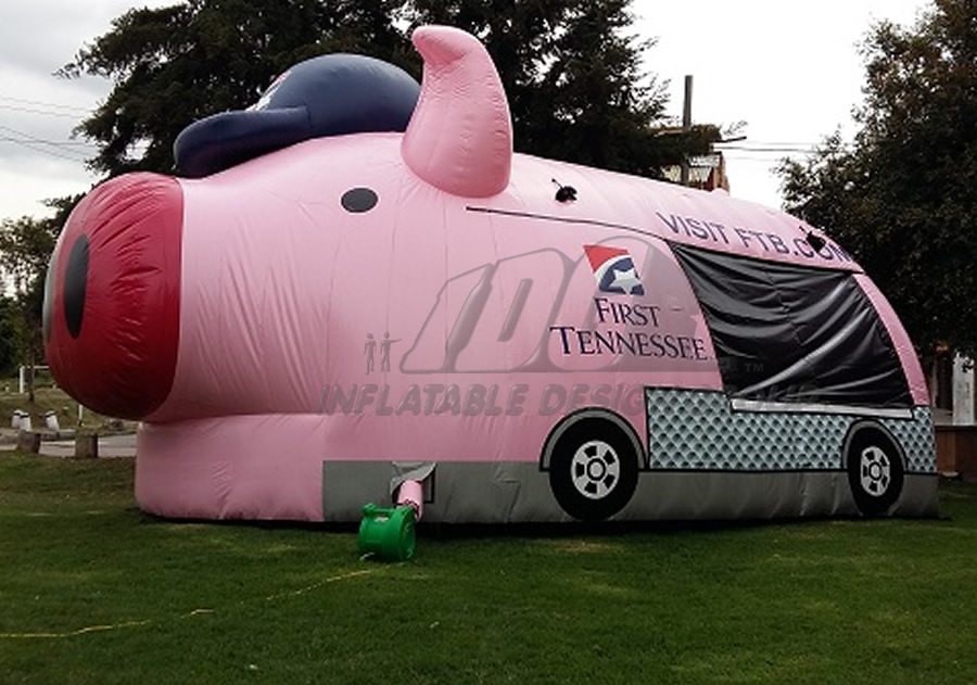 Inflatable Pig Tent