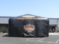 Inflatable Baseball Pavilion Side View