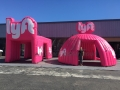 Inflatable Lyft Tent & Tent Tunnel