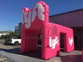 Inflatable Lyft Tent Tunnel