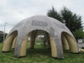 Inflatable National Guard Pavilion