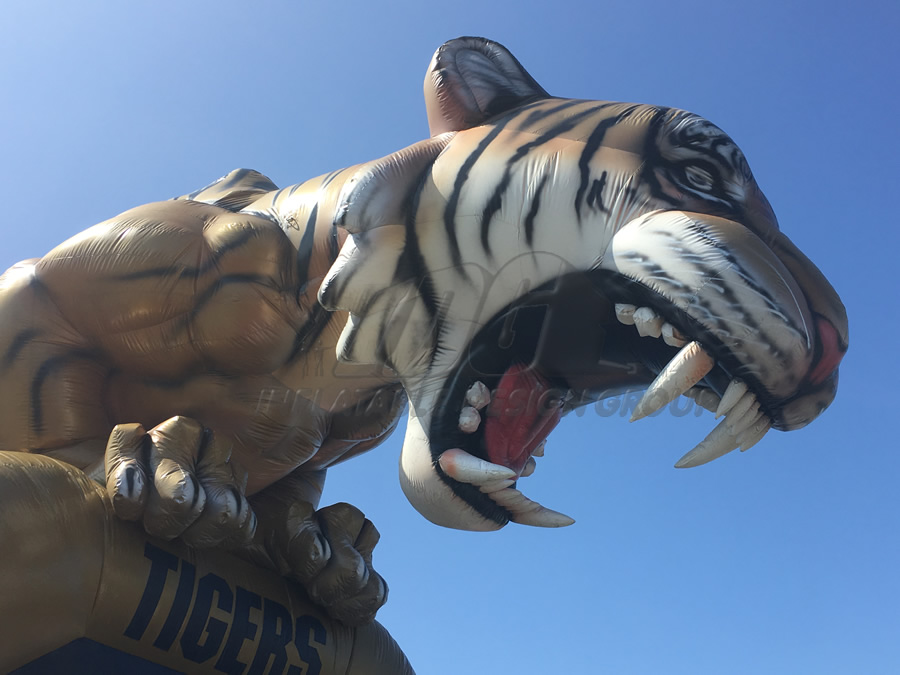 Inflatable Tiger Face