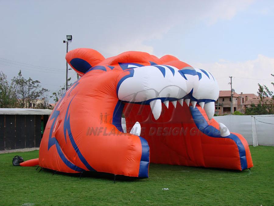 Inflatable Tiger Mascot
