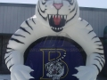 Inflatable Bengal Tiger Entryway