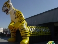 Inflatable Tiger Entryway Side View