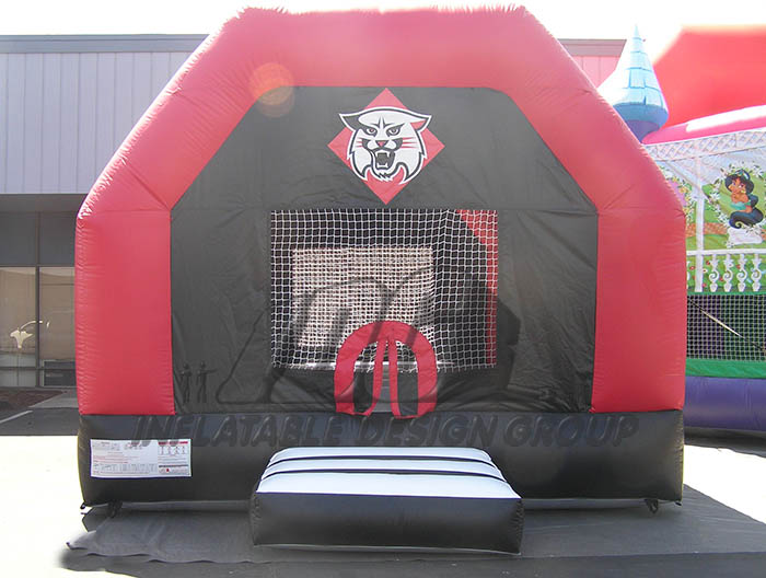 Red and Black Bounce House