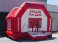 Bradley Braves Bounce House