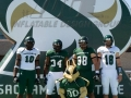 sacramento state custom inflatable logo block