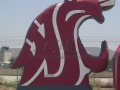 washington state custom inflatable logo block