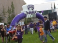 Northwestern Custom Inflatable Arch