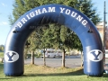 BYU Inflatable Archway