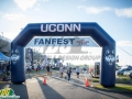 UCONN Custom Inflatable Arch
