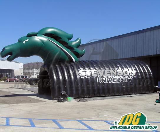 Stevenson University Tunnel Inflatable