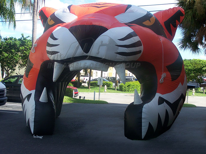 Inflatable Tiger Entranceway