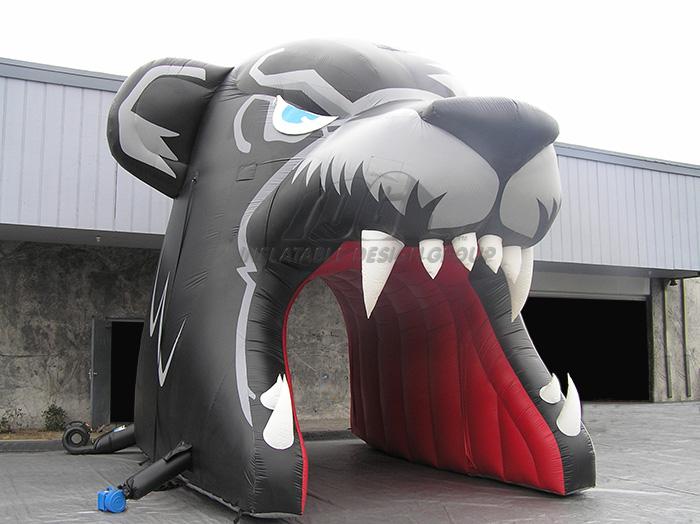 Inflatable Bear Custom Entryway