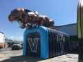 Inflatable Villanova Wildcat Tunnel