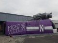 Inflatable Wildcat Northwestern