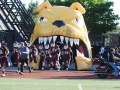 Inflatable University of Minnesota Bulldog Entryway