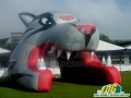 Inflatable University of New Mexico Wolf Entranceway