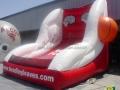 bradley university custom inflatable free throw contest