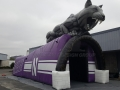 Inflatable-Northwestern-Wildcat