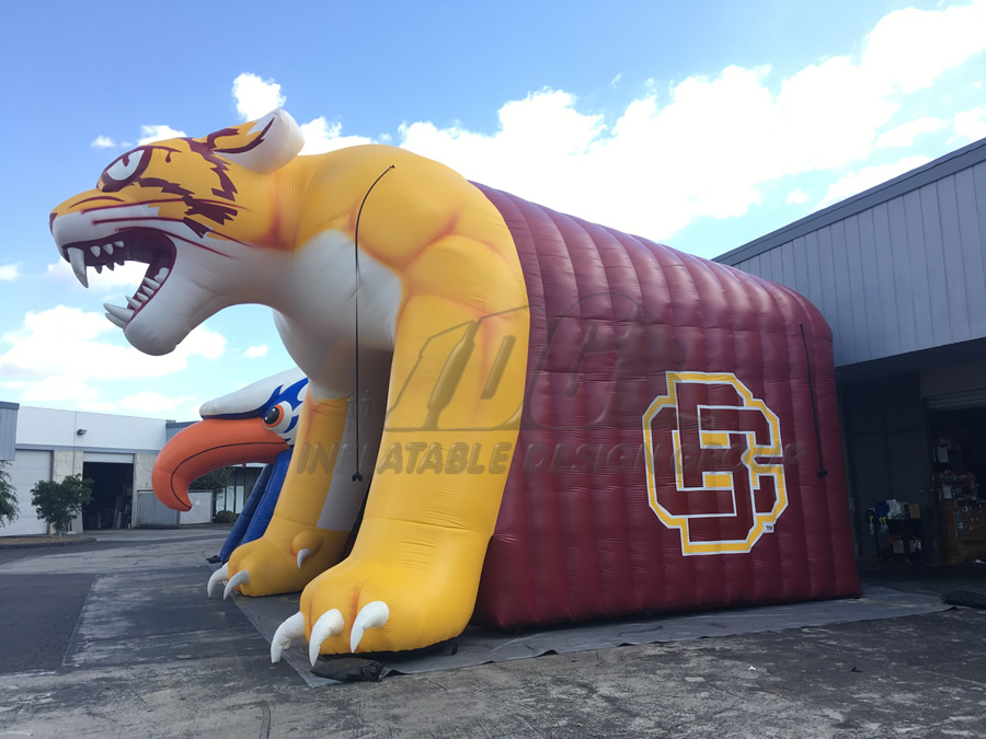 Inflatable Wildcat Entryway