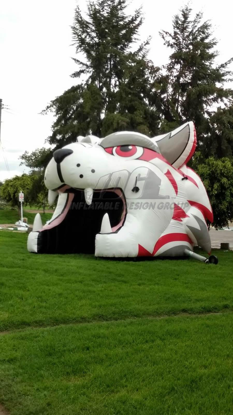 Inflatable Wildcat Head