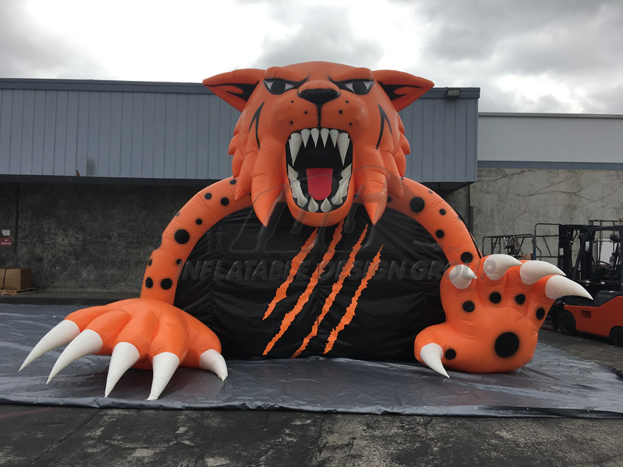 Inflatable Wildcat Mascot