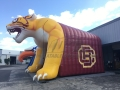 Inflatable Wildcat Entryway