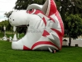 Inflatable Wildcat Head Tunnel