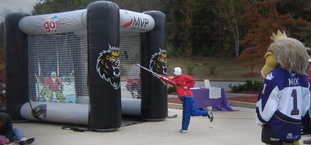 custom-Inflatable-hockey-slapshot-game-monarchs