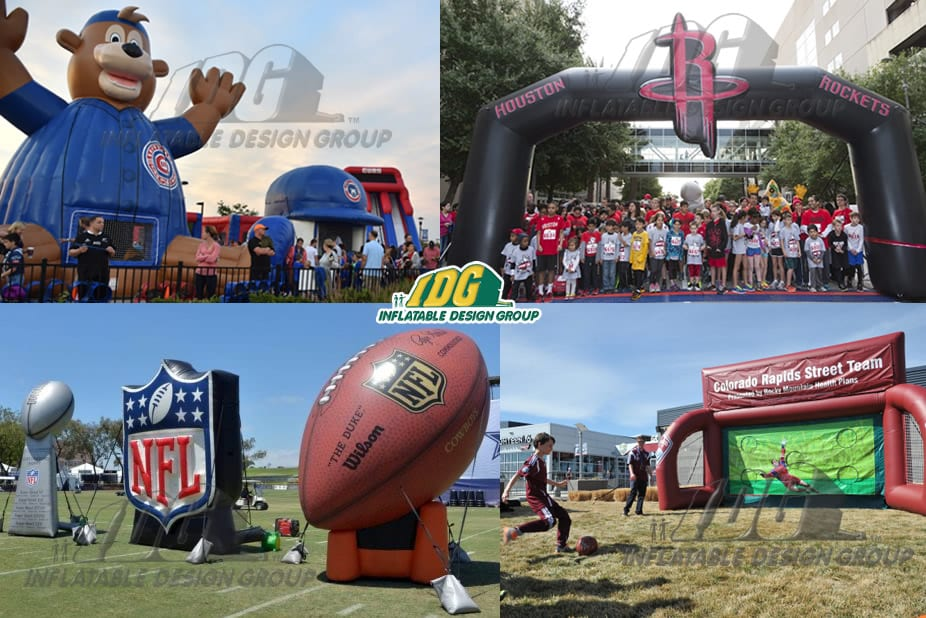 inflatable custom branded games