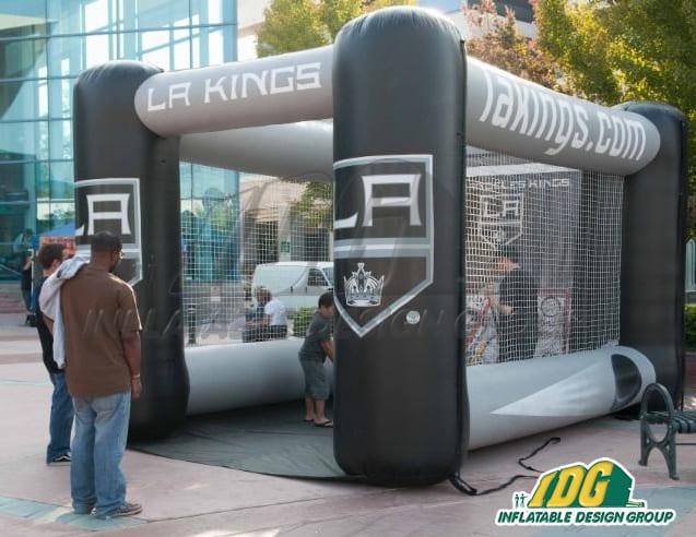 LA Kings Hockey Slapshot Inflatable