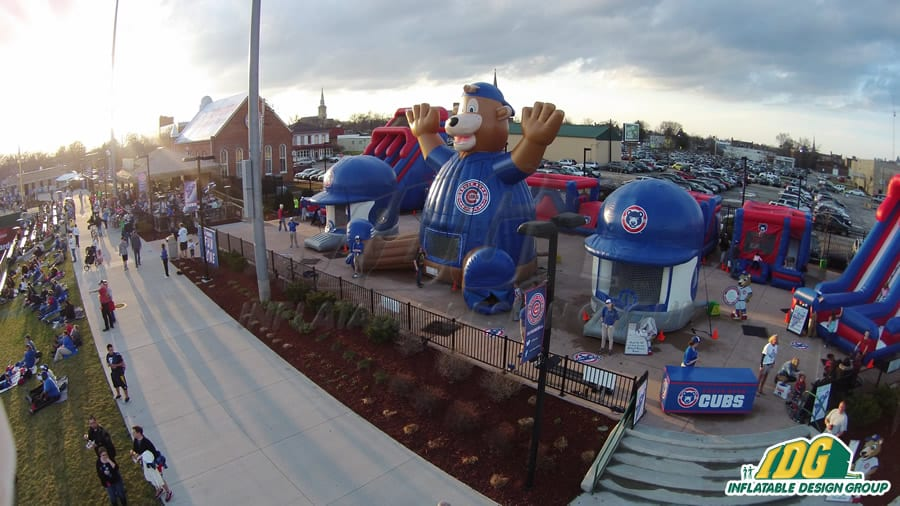 Inflatable Fun Zone Cubs