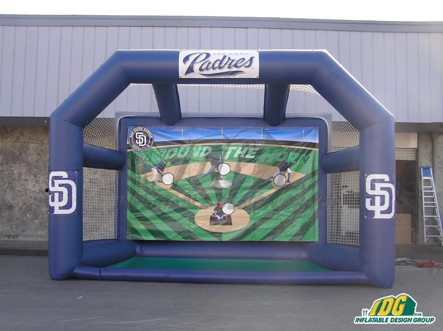 Padres Around the Horn Inflatable