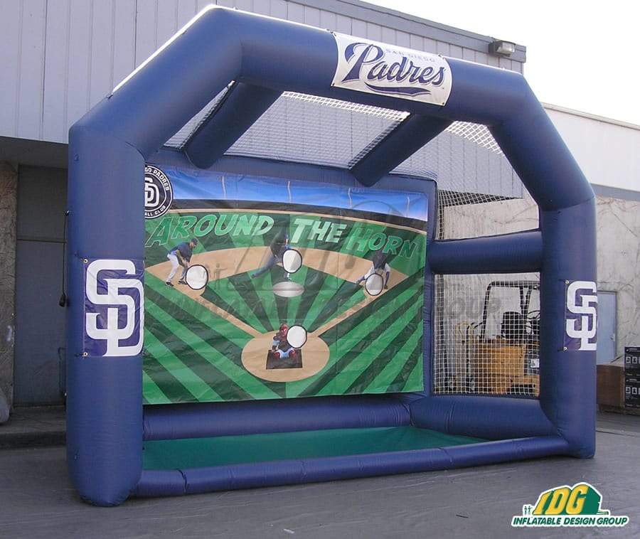 Side View Around the Horn Inflatable
