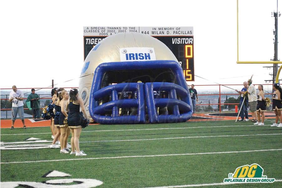 Inflatable Irish Helmet