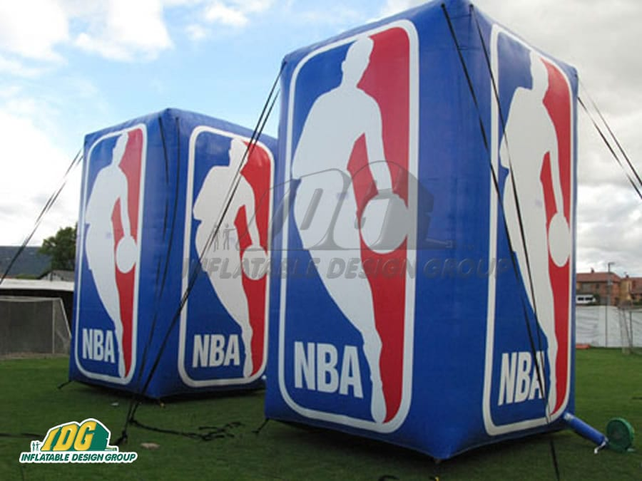 custom basketball inflatables
