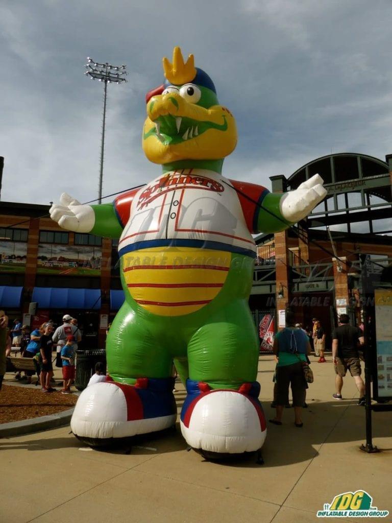 Inflatable Baseball Mascot